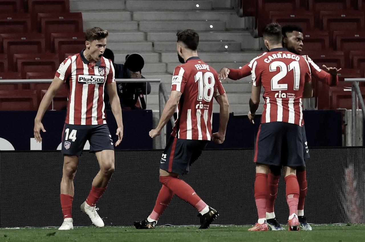 El Atlético saca su '+3' debajo de la manga