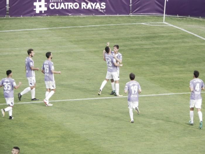 El Real Valladolid da miedo en casa