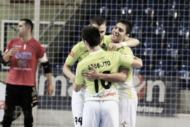 Palma Futsal - Prone Lugo: las dos caras de la moneda