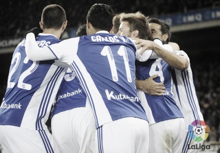 Real Sociedad - FC Barcelona: puntuaciones Real Sociedad, jornada 13 de la Liga BBVA