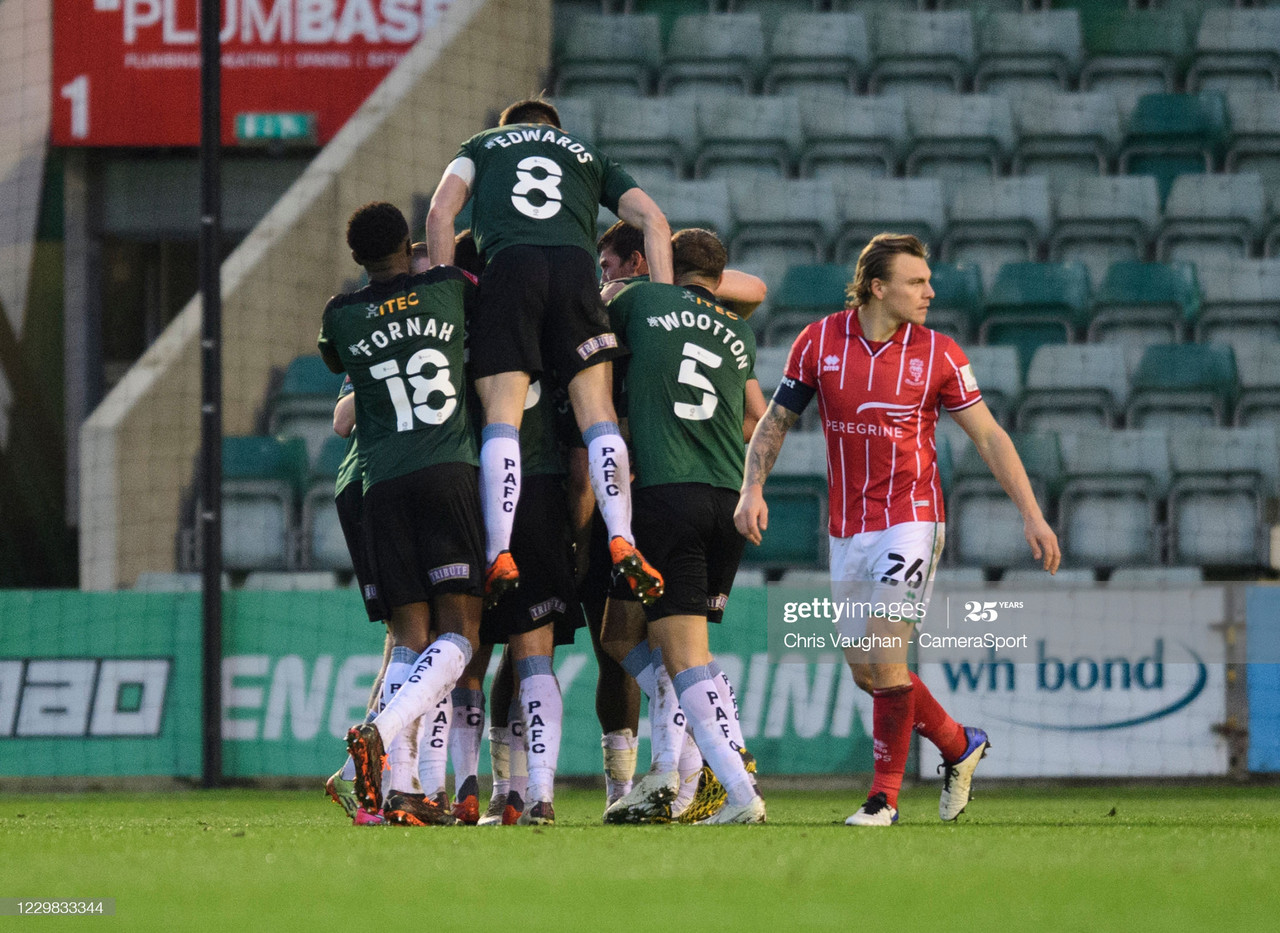 Ben Reeves certainly won't forget that goal any time soon / Photo by Chris Vaughan - CameraSport via Getty Images
