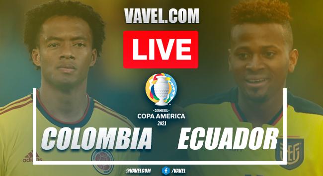 Resumen y goles Colombia 1-0 Ecuador en fecha 1 del grupo B por Copa América 2021