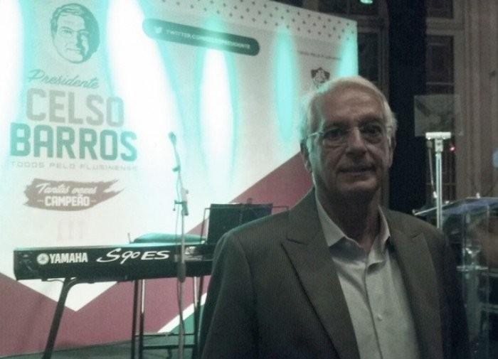 Celso Barros lança campanha oficial à presidência do Fluminense