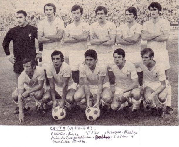 Momentos Celta-Granada: Santiago Castro, el pulmón de los 70