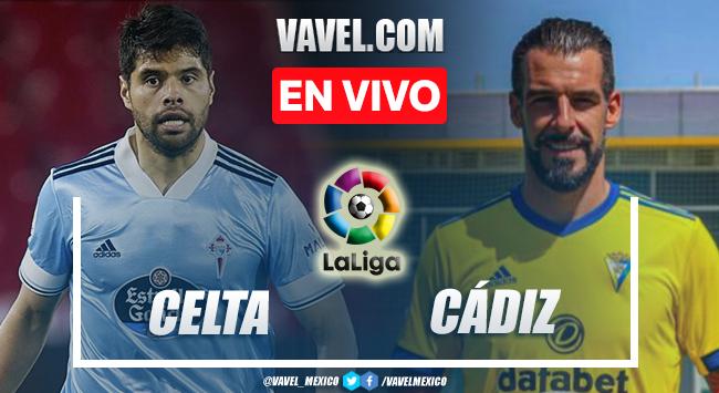Goles y resumen del Celta 1-2 Cádiz en LaLiga 2021