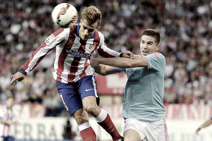 Liga - Remuntada Atletico, piegato nel finale il Celta Vigo (3-2)