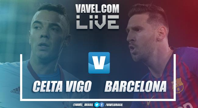 Resultado e gols de Celta de Vigo x Barcelona pelo Campeonato Espanhol (2-0)