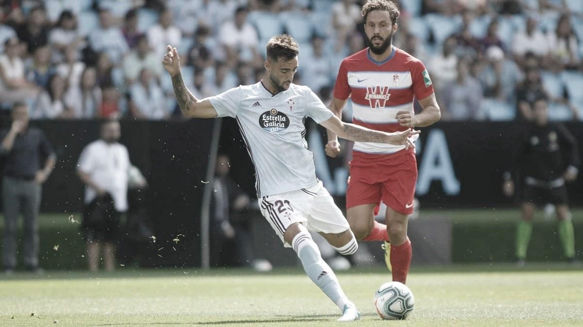 La respuesta de un jugador del Granada al Celta sobre el VAR