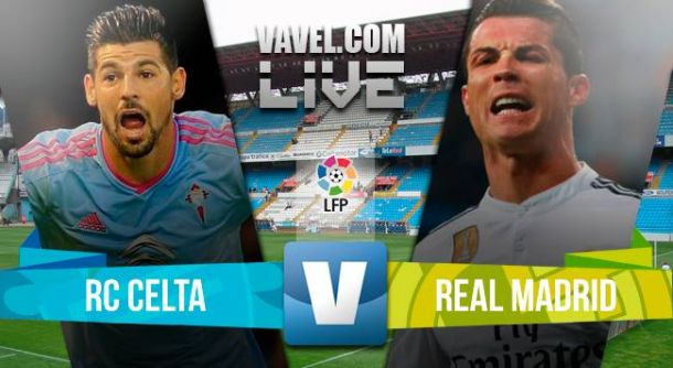 Celta vs Real Madrid en vivo y online (2-4)