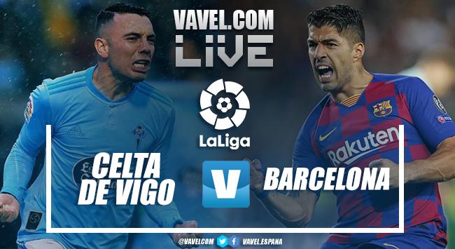 Celta de Vigo vs FC Barcelona EN VIVO y en directo en LaLiga