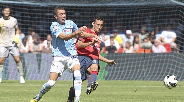 El Celta consigue los primeros puntos de la temporada tras ganar a Osasuna