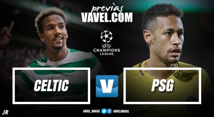 PSG inicia busca pelo desejado título da Champions League contra o Celtic