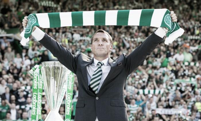 """Brendan Rodgers descarta ida para treinar seleção inglesa: """"Celtic é meu emprego dos sonhos"""""""