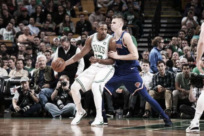 Celtics se aprovecha de unos débiles Knicks