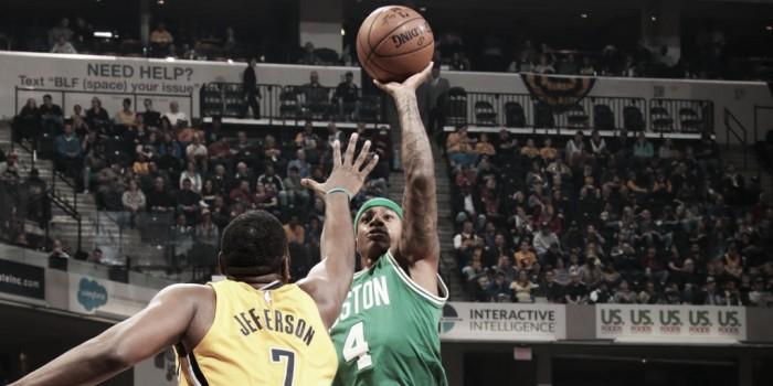 Com bom jogo coletivo, Celtics vence Pacers fora de casa