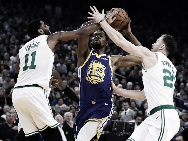 NBA: Boston asaltó a Warriors y Rockets pone quinta a fondo