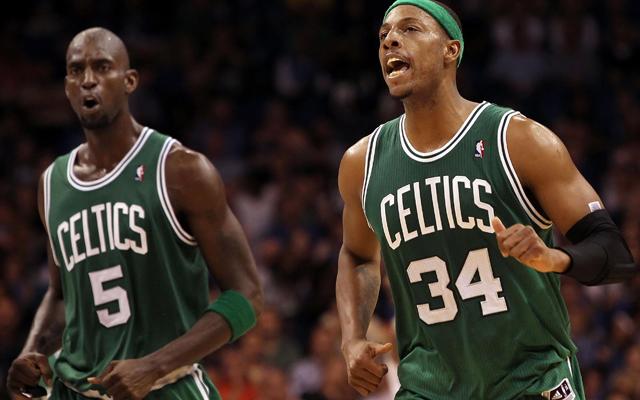 Kevin Garnett e Paul Pierce são trocados para o Brooklyn Nets