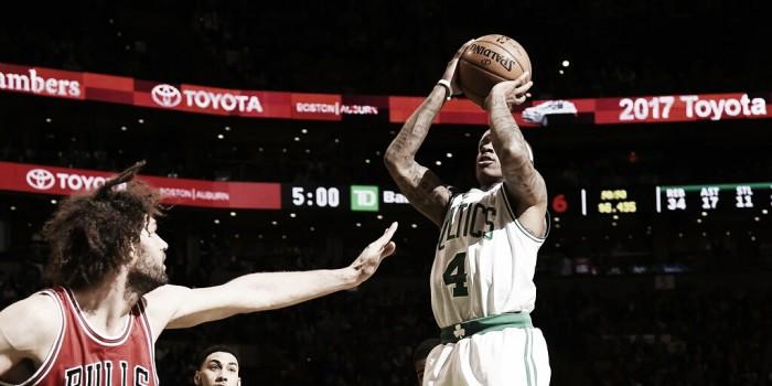 Com primeiro tempo excelente, Celtics batem Bulls em Boston