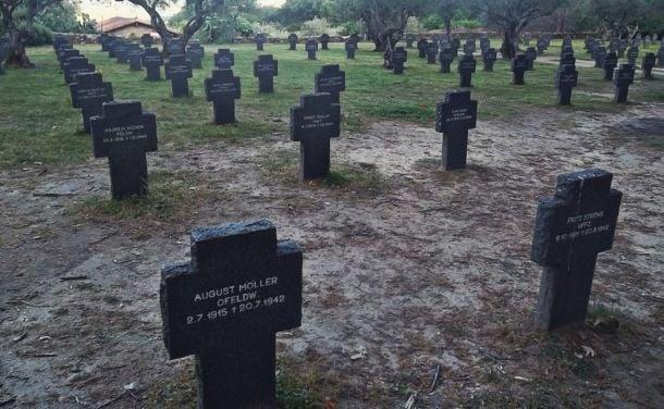 Un cementerio alemán en nuestras fronteras