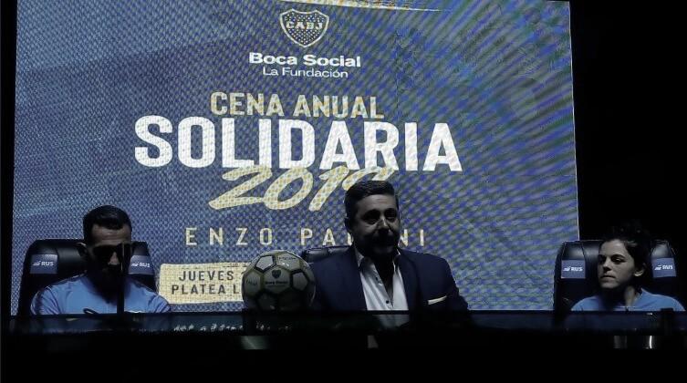 Boca confirmó la fecha para la Cena Anual Solidaria