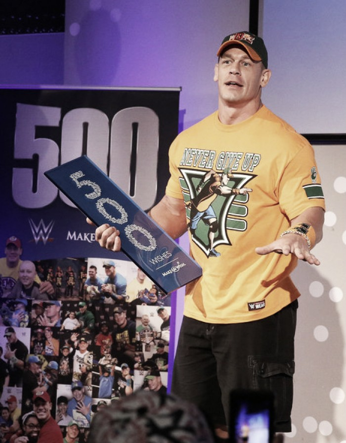 John Cena speaks on relationships and his Make-a-Wish work