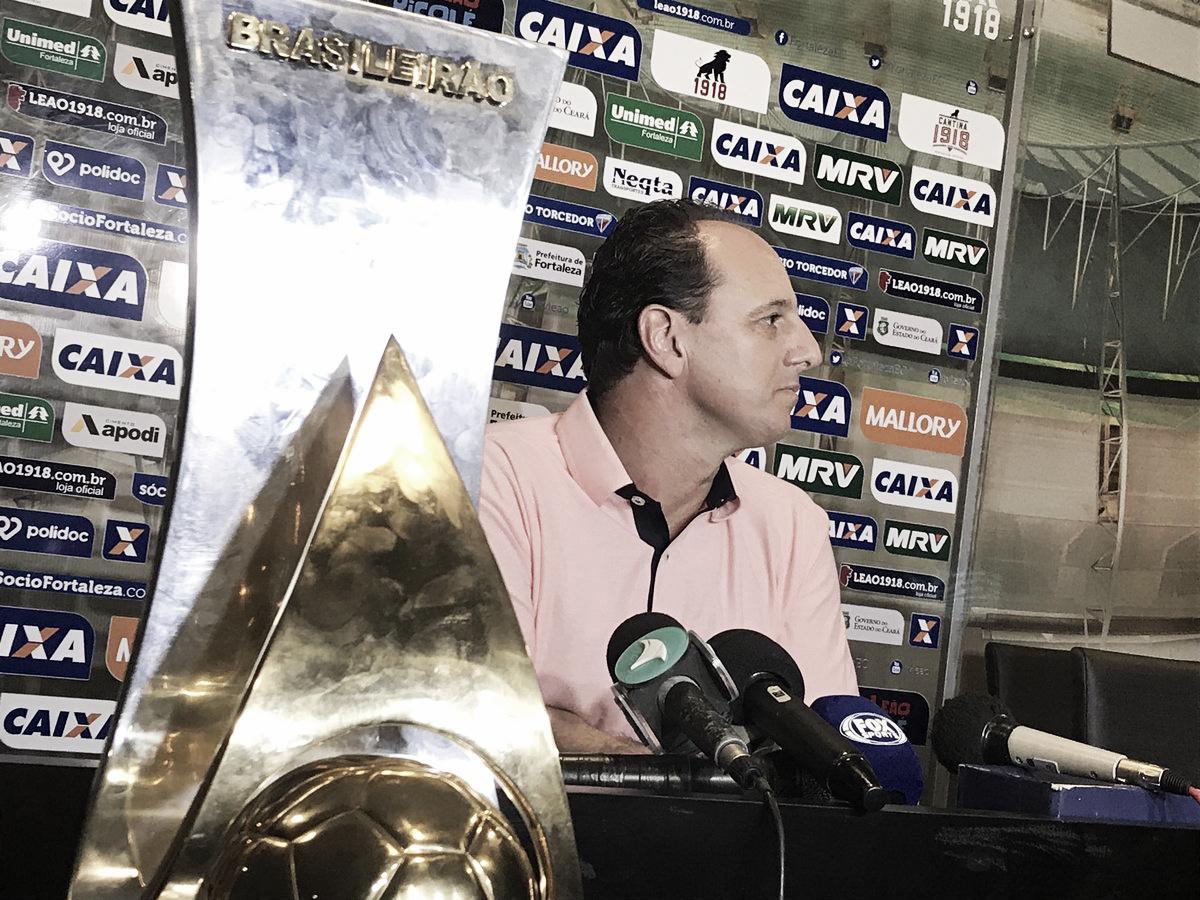 Emocionado, Rogério Ceni compara título pelo Fortaleza com os que conquistou como atleta