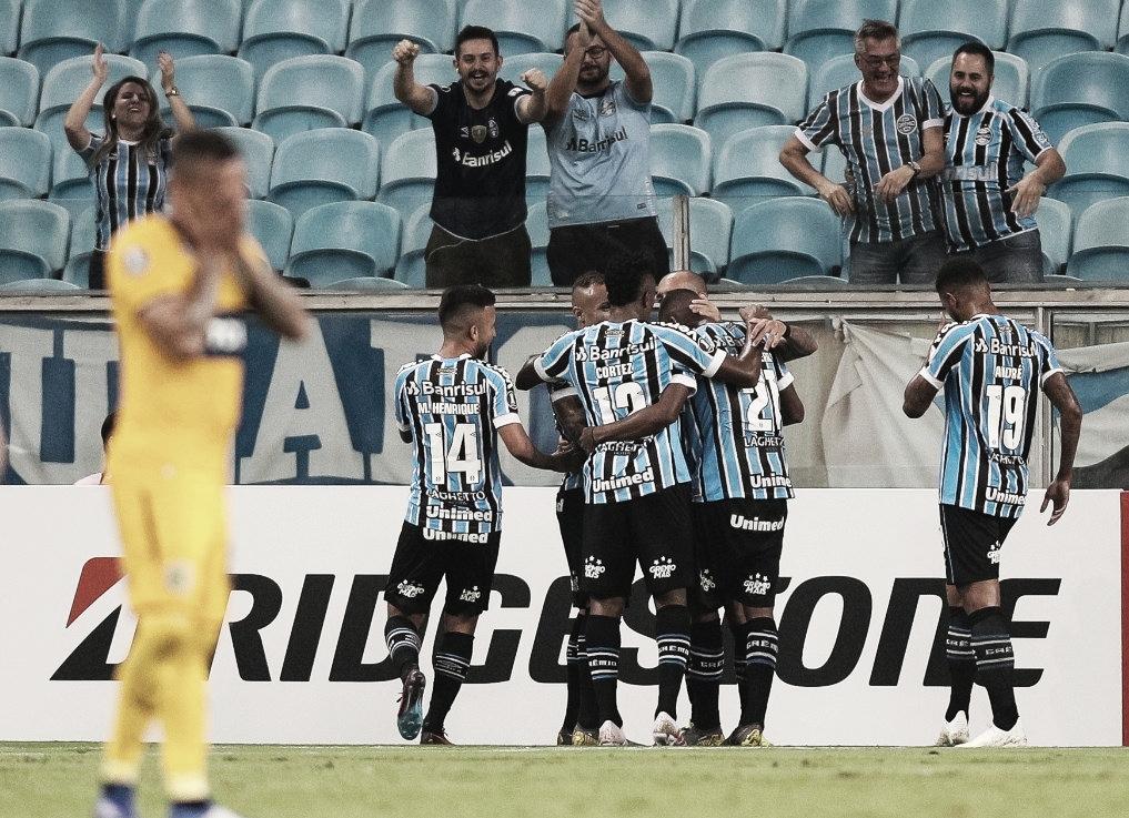 Central perdió 3 a 1 frente a Gremio y quedó al borde de la eliminación de la Libertadores