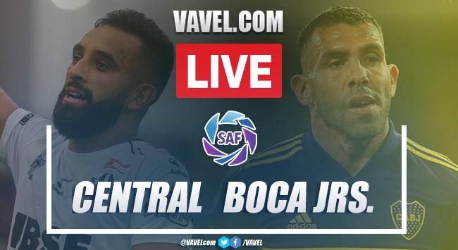 Goles y Resumen: Central Córdoba 0-4 Boca Juniors en Superliga Argentina 2020