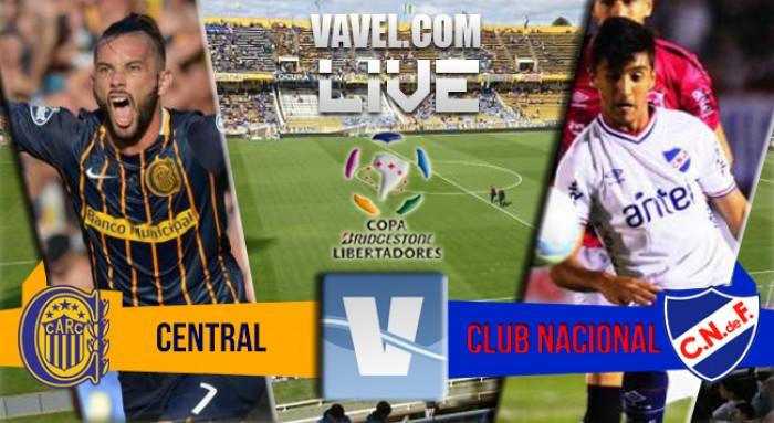 Resultado de Rosario Central y Nacional por la Copa Libertadores 2016 (1-1)