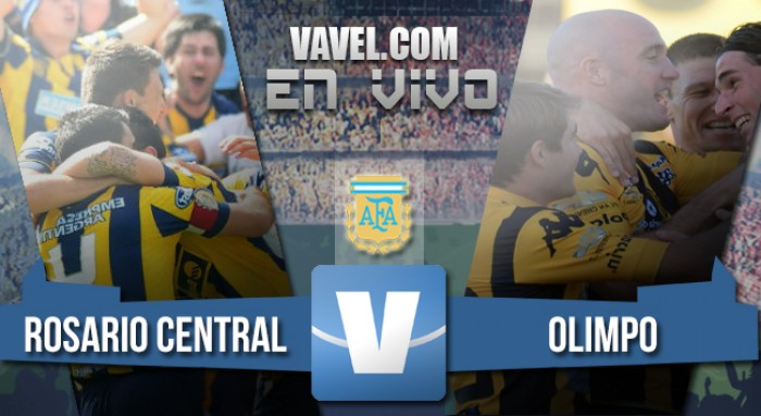 Rosario Central vs Olimpo EN VIVO ahora