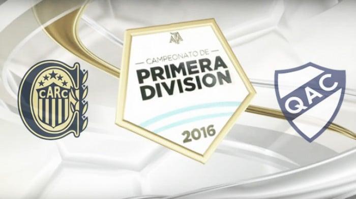Resultado Rosario Central - Quilmes (1-1)