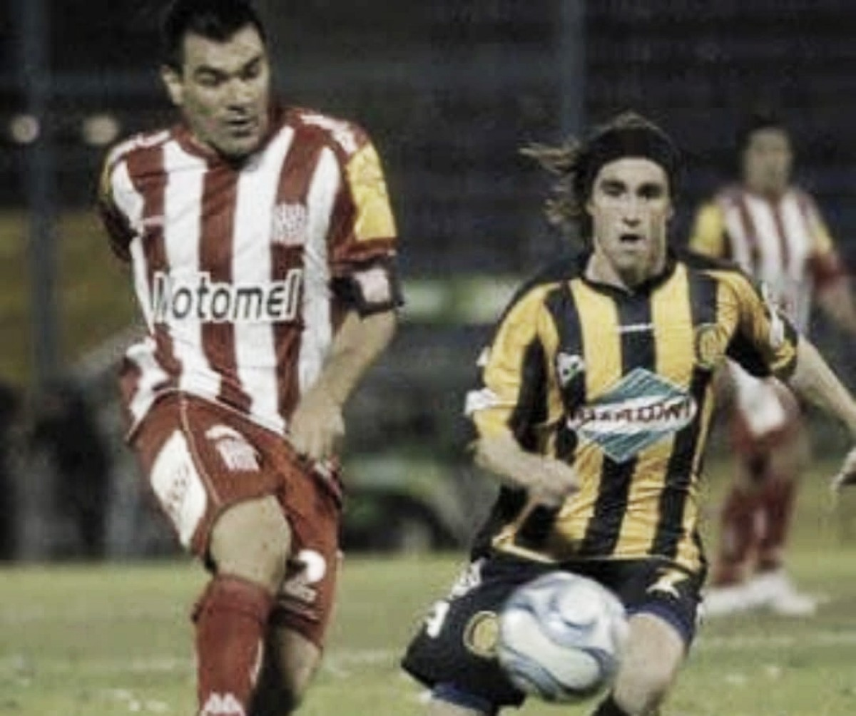 El último partido que jugaron en Primera División en Rosario
