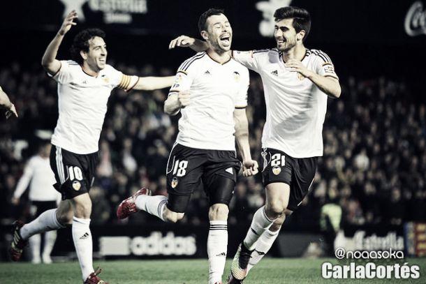 Valencia CF 2014/2015: el centro del campo
