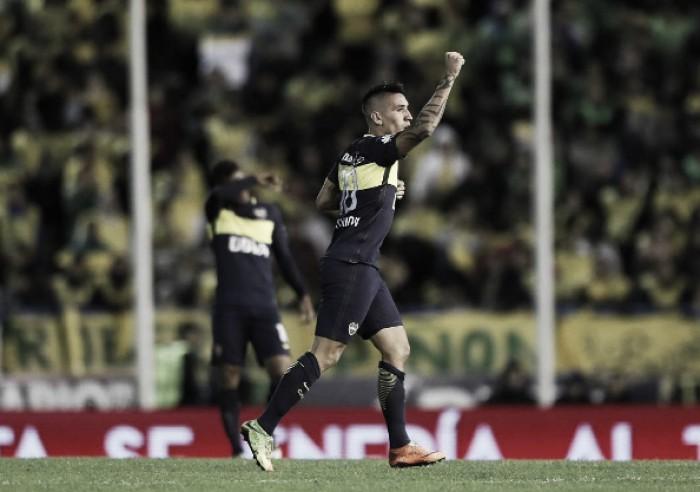 """Centurión: """"Quiero ser campeón con Boca"""""""