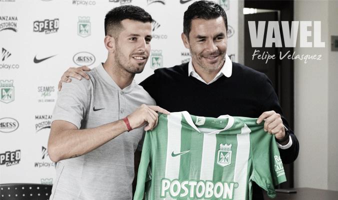 """Pablo Cepellini: """"vamos a estar muy compenetrados para hacer muchos goles con este club que es muy grande"""""""