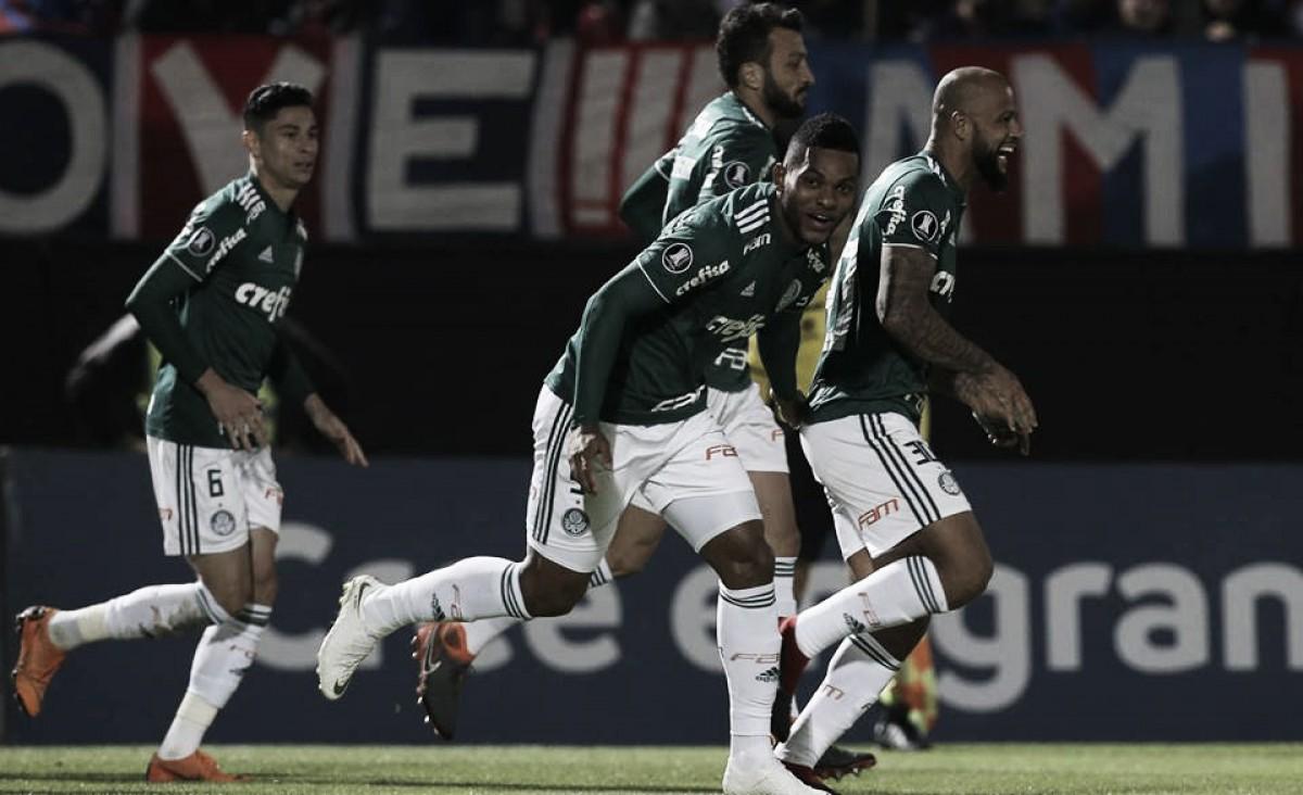 Borja marca duas vezes e Palmeiras sai em vantagem diante do Cerro Porteño