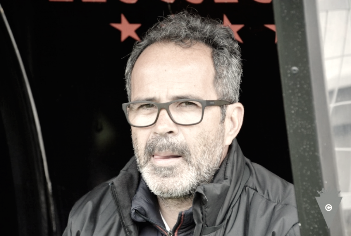 """Álvaro Cervera: """"No somos capaces de doblegar a un equipo que no nos deja pasar""""."""