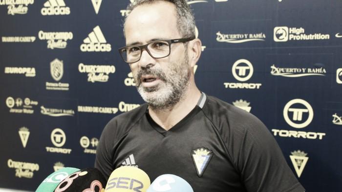 """Álvaro Cervera: """"El Albacete será un equipo complicado"""""""