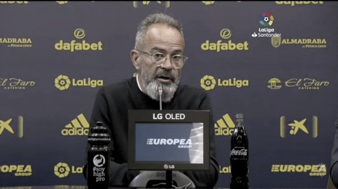 """Cervera: """"Hemos fabricado sus dos primeros goles"""""""