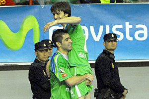 César Muñoz deja el fútbol sala