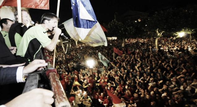 Baño de multitudes de Inter Movistar en Alcalá de Henares