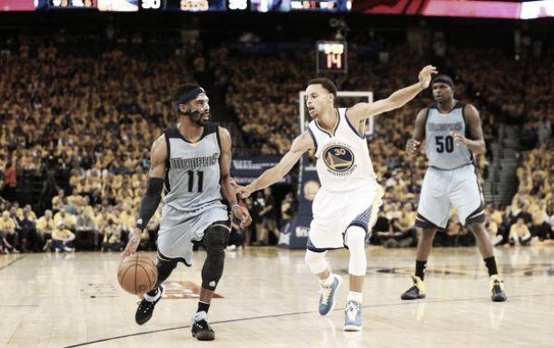 Memphis Grizzlies quebra mando, derrotaGolden State Warriors e empata a série