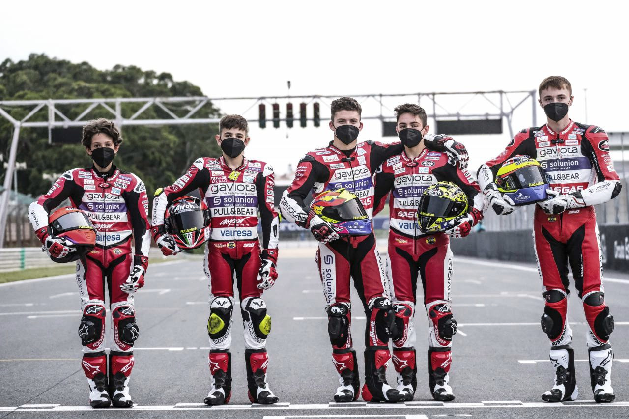 El Aspar Team Junior llega aValencia
