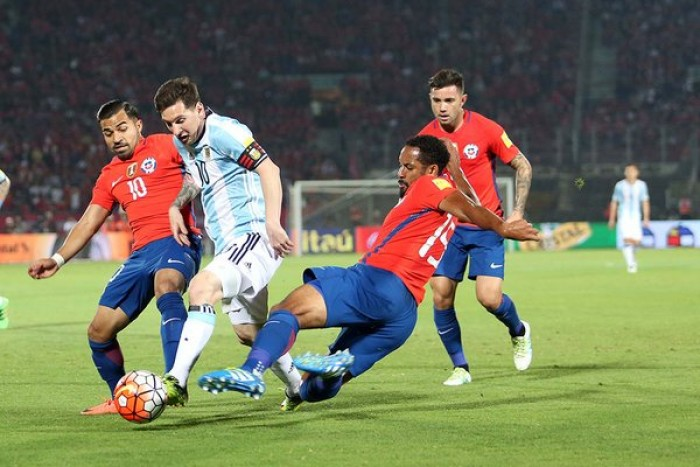 Argentina Exacts Revenge With 2-1 Win At Chile