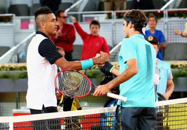 Kyrgios fait plier Federer
