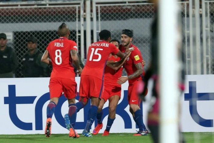 Mauricio Pinilla And Arturo Vidal Record Braces As Chile Defeats Venezuela, 4-1