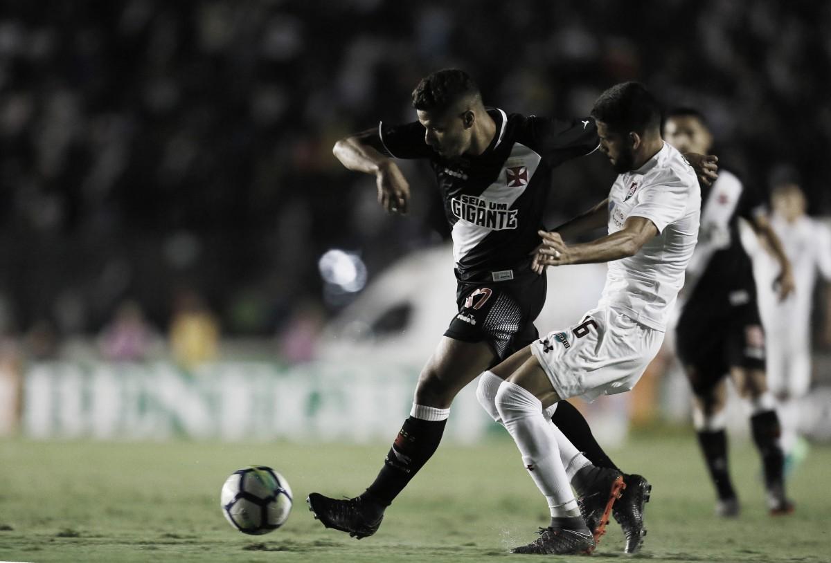 Vasco sai na frente, mas cede empate ao Fluminense no fim