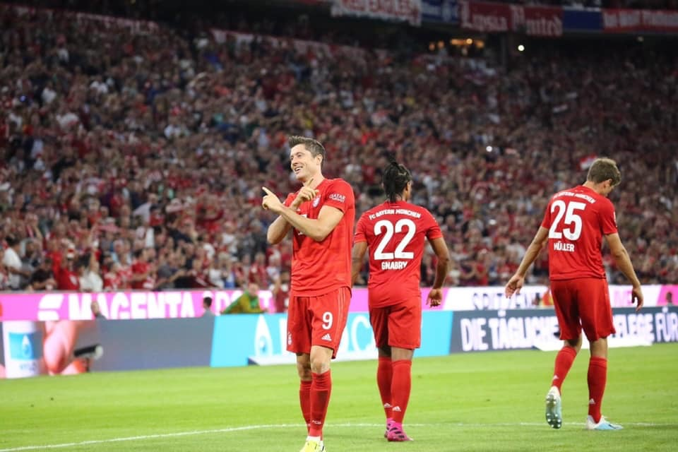 Bundesliga- Lewandowski salva il Bayern, l'Hertha strappa il pari all'Allianz Arena (2-2)