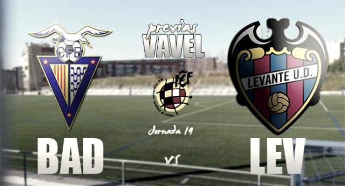 CF Badalona - Atlético Levante: acabar bien el año