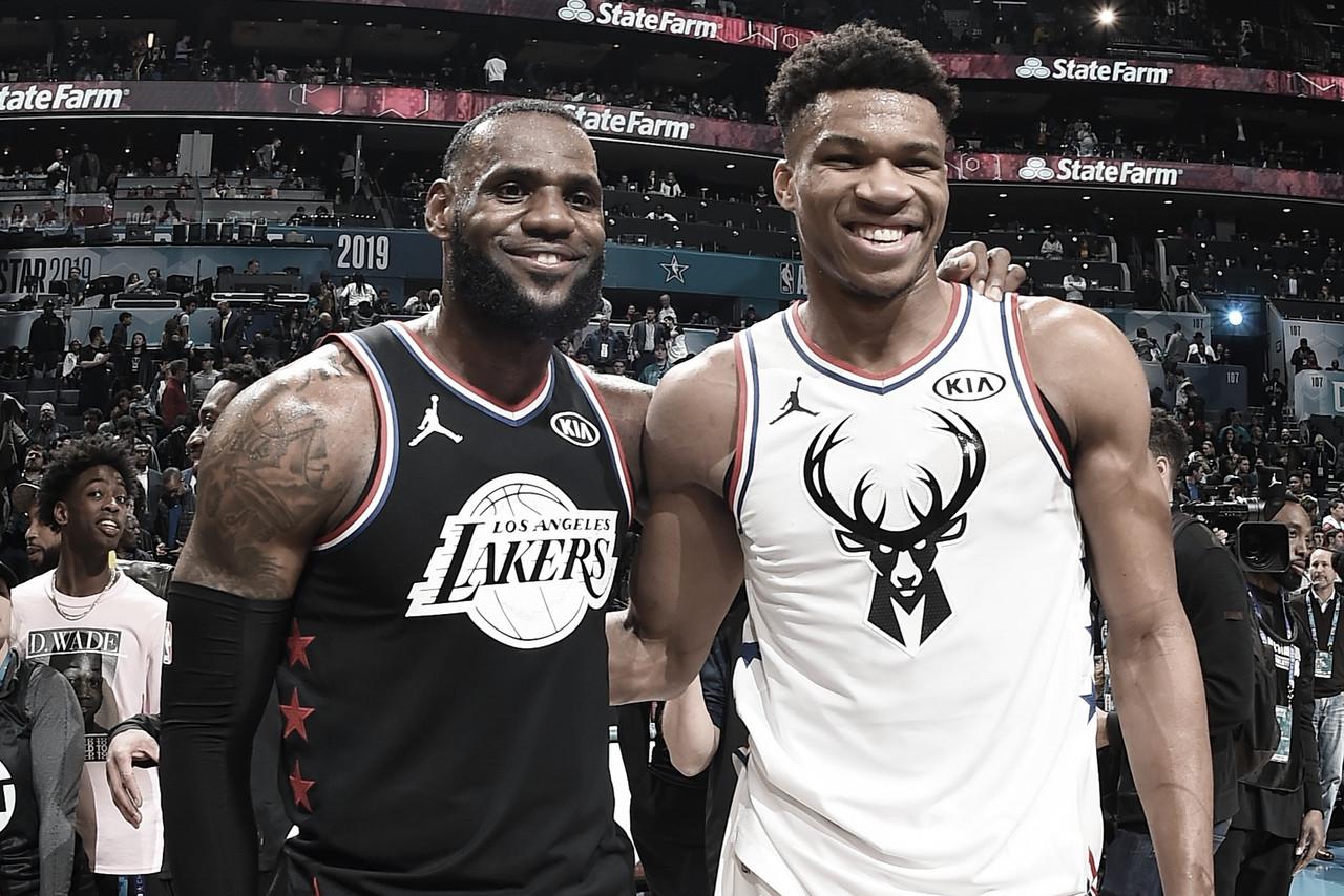 ¿Cómo llegan los equipos de LeBron y Giannis al duelo del All Star?